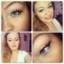 Summer makeup look:)