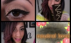 TUTORIAL: Everyday Neutral (urban decay naked pale