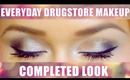 Everyday Drugstore Makeup Completed Look