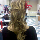 Love is in the air contest, hair done by team.