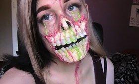 Neon Zombie Special FX Makeup Tutorial