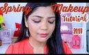 Spring Makeup Tutorial -Orange Makeup🍊  SuperPrincessjo