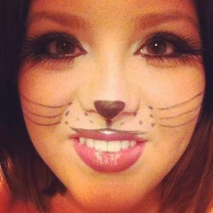 Halloween cat look.