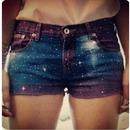 Cute Galaxy Shorts