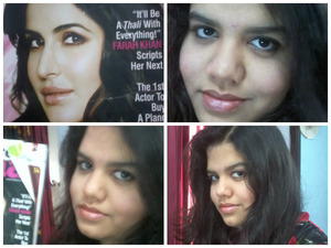 She is Bollywoods number 1 Actress THIS year! she always keeps her makeup simple Natural glamorous:)