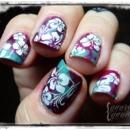 Rockabilly Luau Hibiscus Floral