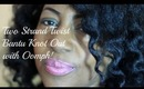 2-Strand Twist Bantu Knot Out With Some Oomph   Natural Hair