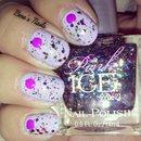 Lavender And Confetti Glitter