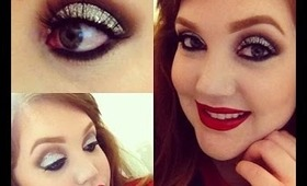Disco Eyes; Full Face New Years Makeup Tutorial