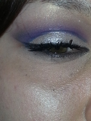 This is a look I did a couple of months ago. I took this pic after work, so it's a little rough looking.