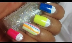 Neon Nail Art Tutorial