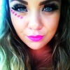 Makeup by me on me for a EDM Veld music festival