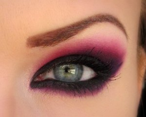 "A look I'm calling ""Black Raspberry"" haha"