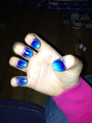 Used Barry M nail paint
