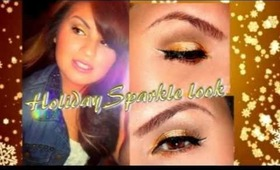 Holiday Sparkle Look 2012