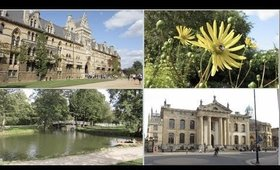 Site-seeing in Oxford & The Botanic Gardens!