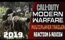 Call of Duty: Modern Warfare 🔥 Multiplayer Trailer 💥Reaction & Review!💥 Lets Discuss...