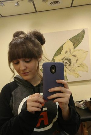 space buns by Christy Farabaugh