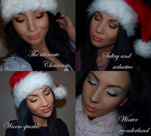 4 Christmas Looks I did for Christmas 2011