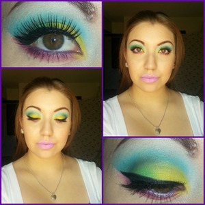 My look for the bhcosmetics contest! :))