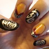 The Secrets of the Immortal Nicholas Flamel Inspired Nails