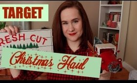 TELL ME HAUL ABOUT IT | TARGET CHRISTMAS | CHRISTMAS 2017