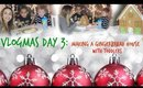 Making a Gingerbread House with Toddlers | Vlogmas Day 3