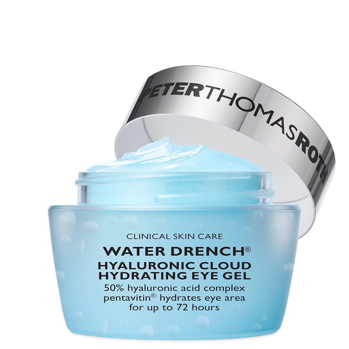 Peter Thomas Roth Water Drench Hyaluronic Cloud Hydrating Eye Gel product swatch.