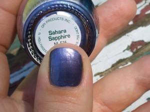 OPI Sahara Sapphire two coats