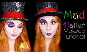 Mad Hatter Halloween Makeup Tutorial - 31 Days of Halloween