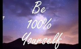 #DearMe: Be 100% Yourself   peachsbeauty