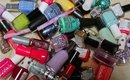 Decluttering My Nail Polishes