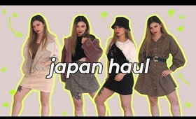 JAPANESE CLOTHING HAUL ✨WHAT I BOUGHT HARAJUKU / SHIBUYA SHOPPING 2019