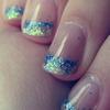 Mermaid Gel Nails