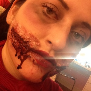 Picture 3 with blood dipping