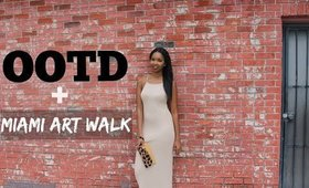 OUTFIT OF THE DAY | Miami Art Walk