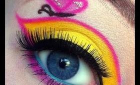 My Little Pony series: Fluttershy Makeup Tutorial