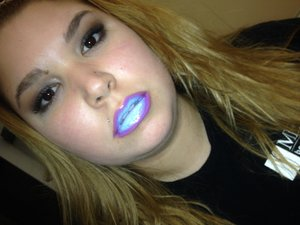 My look is cotton candy lips I did this on me before and got a lot of great reviews  I used lip tars