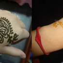 Hena thingy I got at Festival of Nations