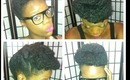 Natural Hair UpDo #3 of a 3 Part Style Series