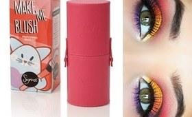Giveaway:Sigma Make Me Up Brush Kit + Bright & fun Eye Look