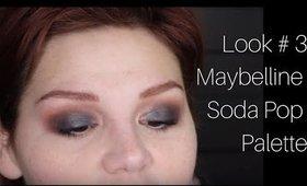 Look 3: Maybelline Soda Pop Palette
