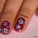 Spring Flowers - Easy Nail Design