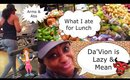 EP.2 - DA'VION IS LAZY, DISRESPECTFUL & MEAN, ARMS & ABS, MY HEALTHY WEIGHT LOSS LUNCH | Shlinda1