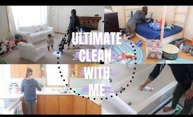 EXTREME CLEAN WITH ME   DAILY CLEANING MOTIVATION   ULTIMATE CLEAN WITH ME