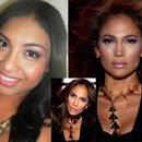Jennifer Lopez Dance Again Makeup look