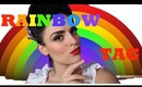 Colors of the rainbow TAG (makeup tag)
