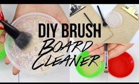 DIY Cheap Brush Board Cleaner & Soap | Sigma Mat Alternative | @GABYBAGGG