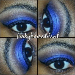 look created using coastal scents 120 2nd edition palette.