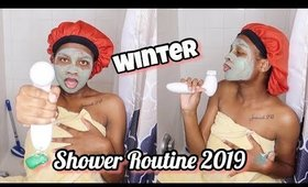 VERY EXTRA Winter Shower Routine (Feminine hygiene, body care, hair removal)